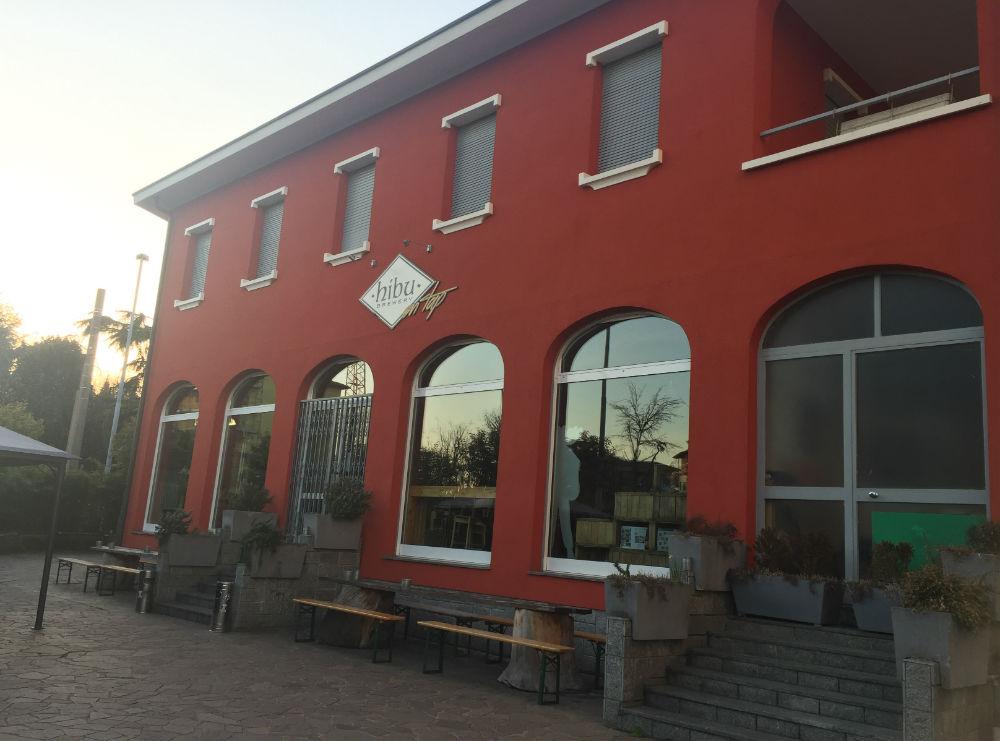 facciata birreria Hibu